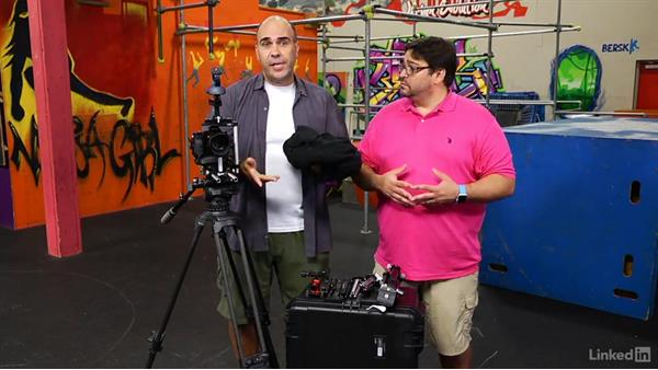 Cradling the camera: Video Gear: Support & Grip