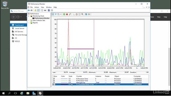 What to monitor: processor and memory: Windows Server 2016: Manage, Monitor, and Maintain Servers