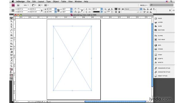 Calculating number of lines: InDesign CS4: Typography