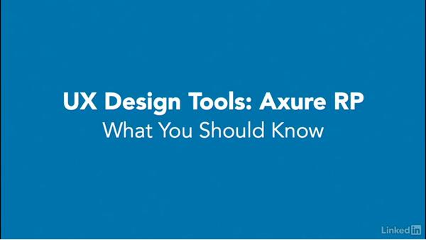 What you should know: UX Design Tools: Axure RP