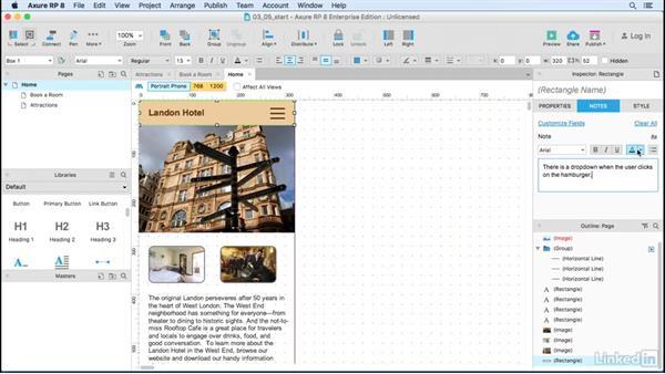 Widget notes: UX Design Tools: Axure RP