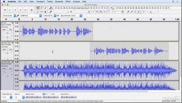 Welcome: Learning Audacity