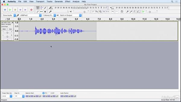 Record: Learning Audacity