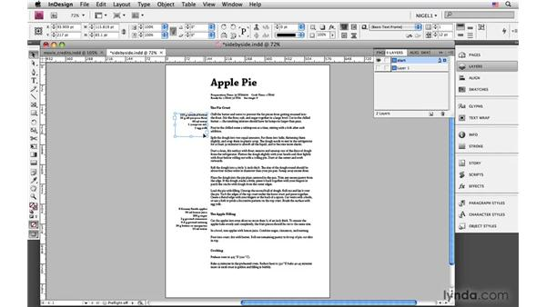 Combining alignments: InDesign CS4: Typography