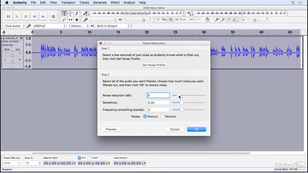 Remove unwanted background noise