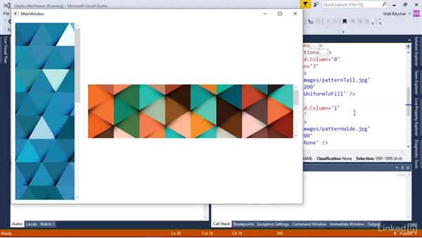 Scrolling content with the ScrollViewer: Windows Presentation Foundation 2: Layout