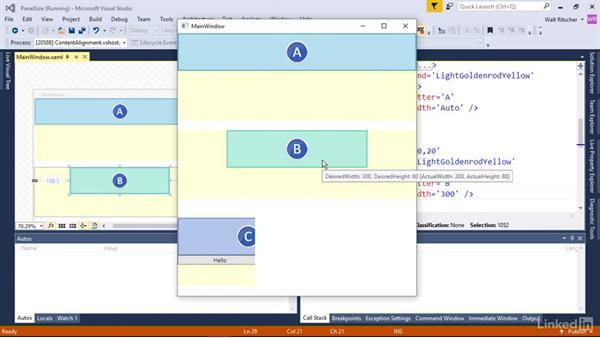 How panels affect control size: Windows Presentation Foundation 2: Layout