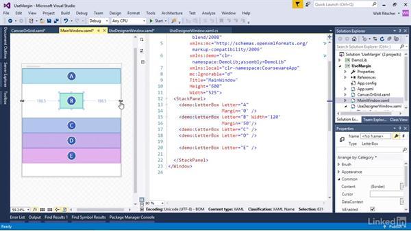 Work with margins: Windows Presentation Foundation 2: Layout