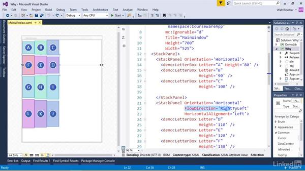 Why make a custom layout panel: Windows Presentation Foundation 2: Layout