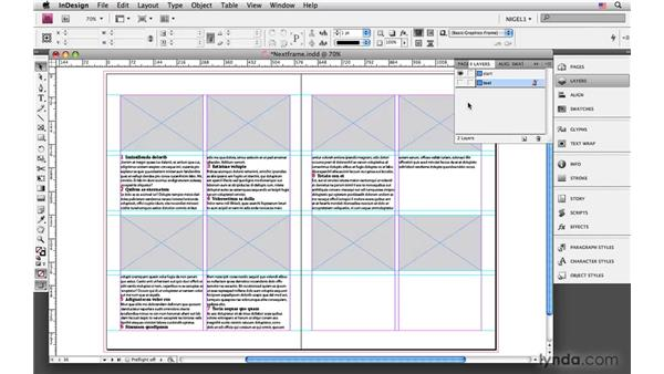 Starting paragraphs in the next frame: InDesign CS4: Typography