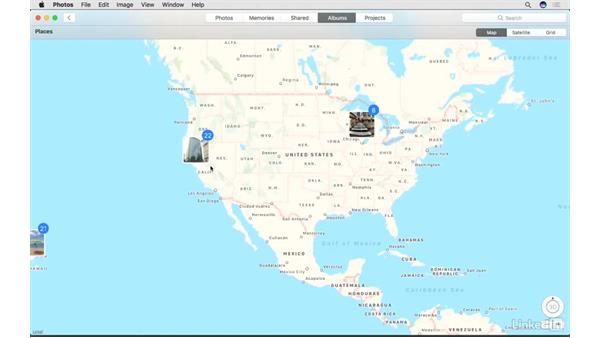 Benefits of location data: Photos for macOS Essential Training