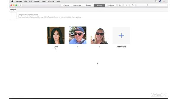 People and Faces: Photos for macOS Essential Training