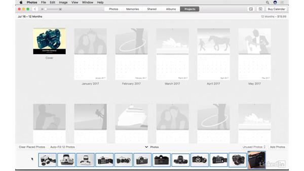 Create a calendar: Photos for macOS Essential Training