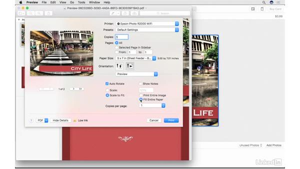 Create custom titles for your slideshow: Photos for macOS Essential Training