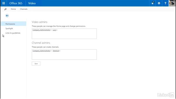 Implement Office 365 video in SharePoint: Office 365: Provision SharePoint Online Site Collections