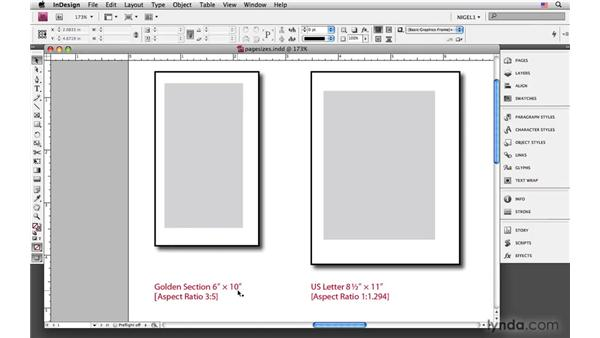 Choosing page size: InDesign CS4: Typography
