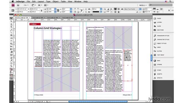 Column grid strategies: InDesign CS4: Typography