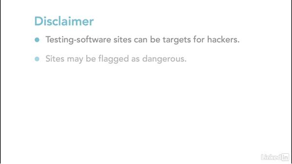 Course disclaimer: Ethical Hacking: Mobile Devices and Platforms