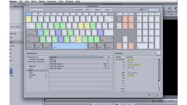 Customizing the keyboard: Motion 4 Essential Training