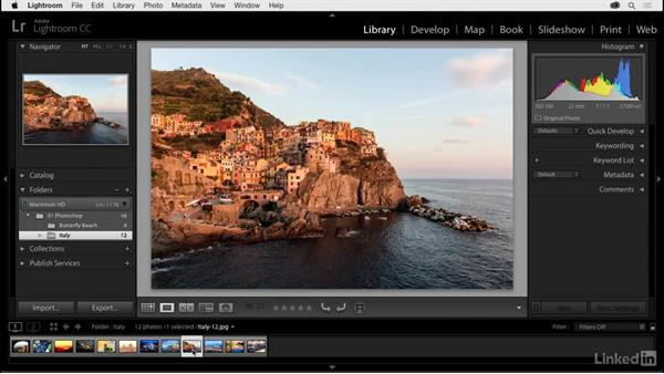 Getting started with Lightroom: Photoshop CC 2017 for Photographers