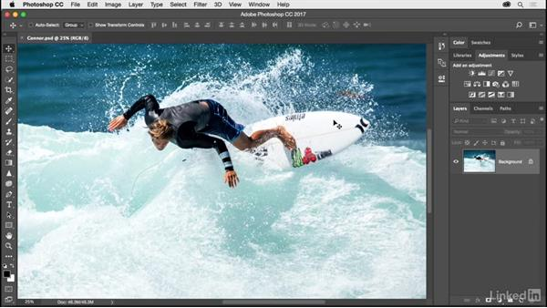 Opening, saving, and closing a photograph: Photoshop CC 2017 for Photographers