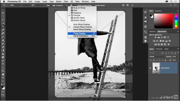 Mastering the Crop tool: Photoshop CC 2017 for Photographers