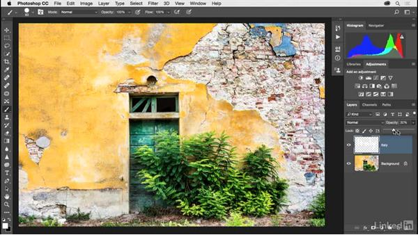 Creating new blank layers: Photoshop CC 2017 for Photographers