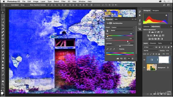 Improving color with adjustment layers: Photoshop CC 2017 for Photographers