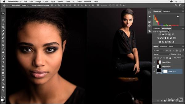 Solution: Using layers: Photoshop CC 2017 for Photographers