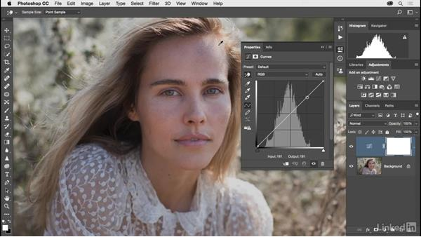 Fine-tuning an image with Curves: Photoshop CC 2017 for Photographers