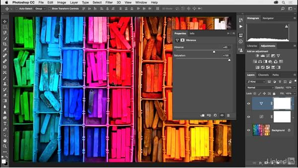 Two steps to creating vivid and beautiful color: Photoshop CC 2017 for Photographers