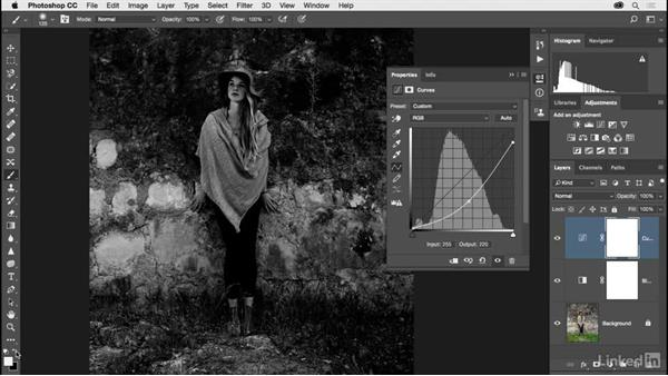 Making more dramatic black-and-white images: Photoshop CC 2017 for Photographers