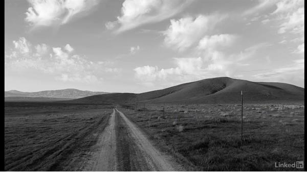 Challenge: Black-and-white landscape: Photoshop CC 2017 for Photographers