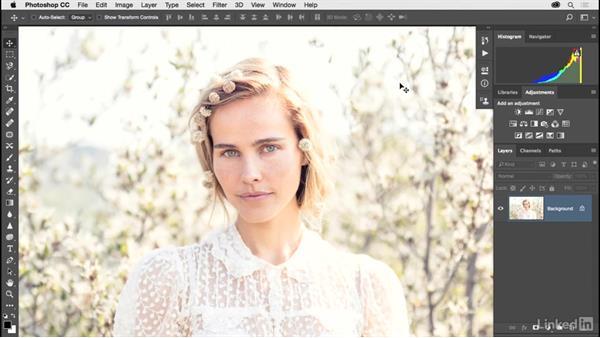 Adding lens flare: Photoshop CC 2017 for Photographers