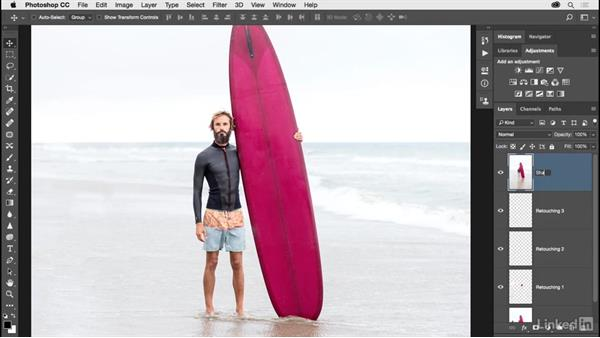 Sharpening a multilayered document: Photoshop CC 2017 for Photographers