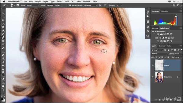 Wrinkle reduction: Photoshop CC 2017 for Photographers