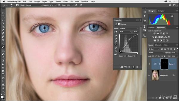 Brightening the eyes: Photoshop CC 2017 for Photographers