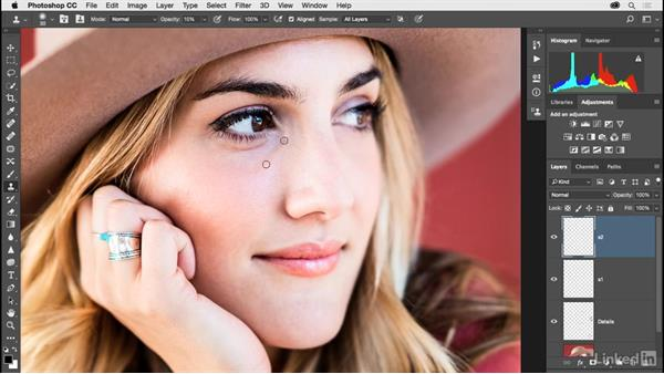 Solution: Creating more beautiful skin: Photoshop CC 2017 for Photographers