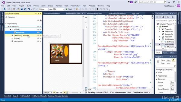 Understand event tunneling: Windows Presentation Foundation 3: Events and the Event Model