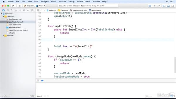 Set the calculator to add or subtract: Programming for Non-Programmers: iOS 10 and Swift