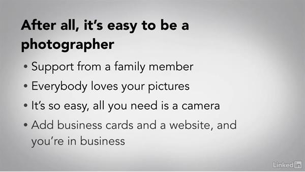 What made you decide to be a professional photographer?: Running a Photography Business: The Basics