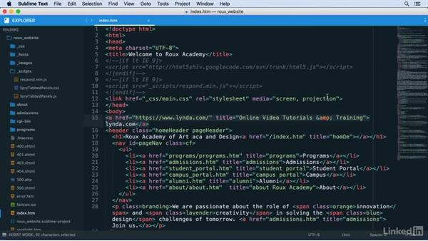 HyperlinkHelper: Learn Sublime Text 3: The Basics