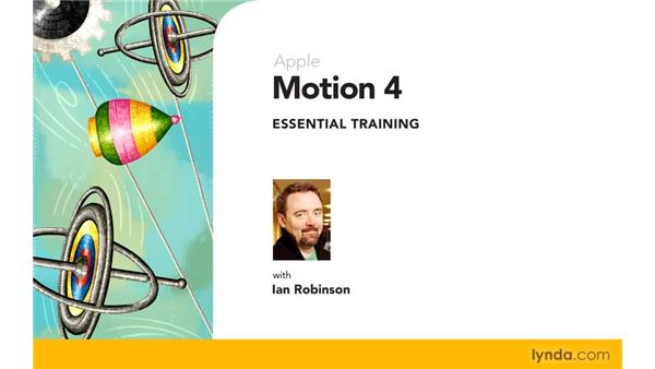 Goodbye: Motion 4 Essential Training