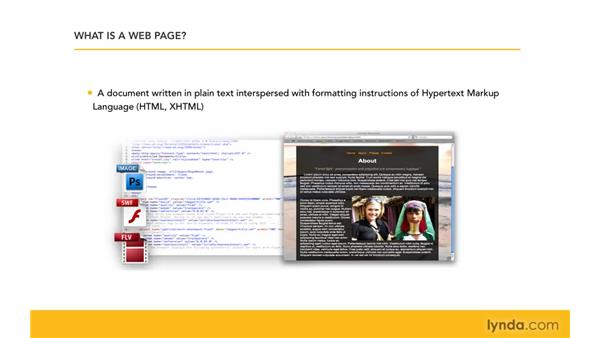 Understanding how web sites work: Creating a First Web Site with Dreamweaver CS4