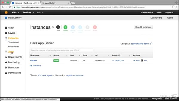 Define application: Amazon Web Services: Deploying and Provisioning