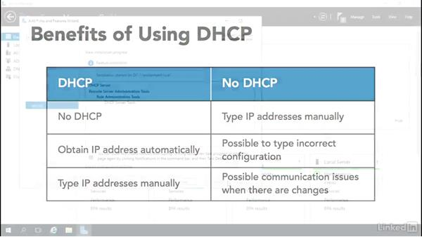 Welcome: Windows Server 2016: DHCP