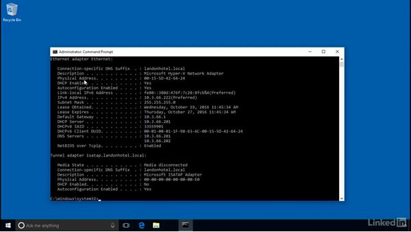 Configuring DHCP reservations: Windows Server 2016: DHCP