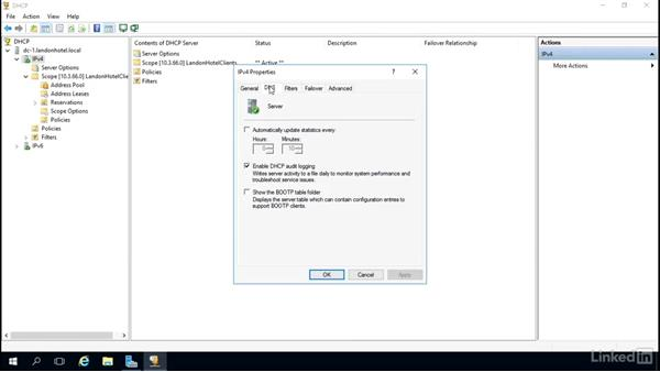 Securing DHCP: Windows Server 2016: DHCP