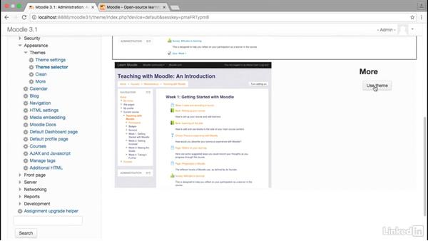 Themes and the Moodle user experience: Moodle Advanced Techniques: Working with Themes
