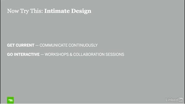 Now try this: Intimate design: Design Thinking: Venture Design